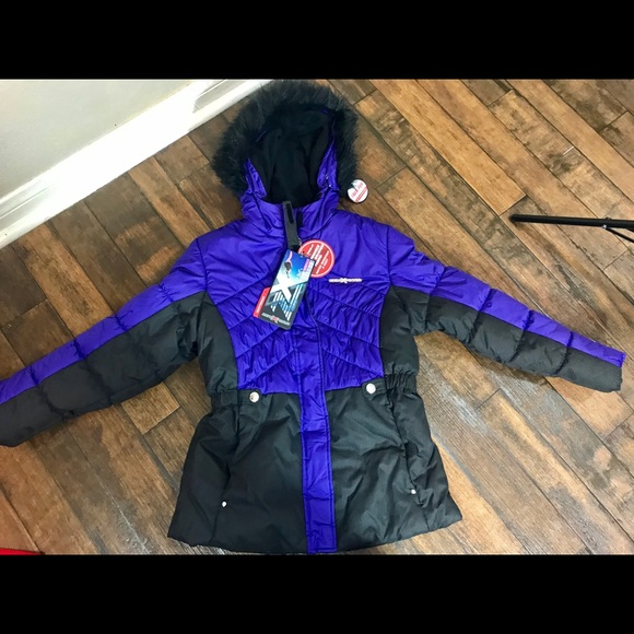4991b2efc ZeroXposur Jackets & Coats   Girls Purple Heavyweight Snow Jacket ...